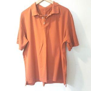 Orange short sleeved T-shirt XL